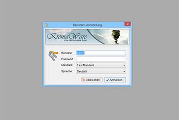 KremaWare Benutzerauthentifizierung